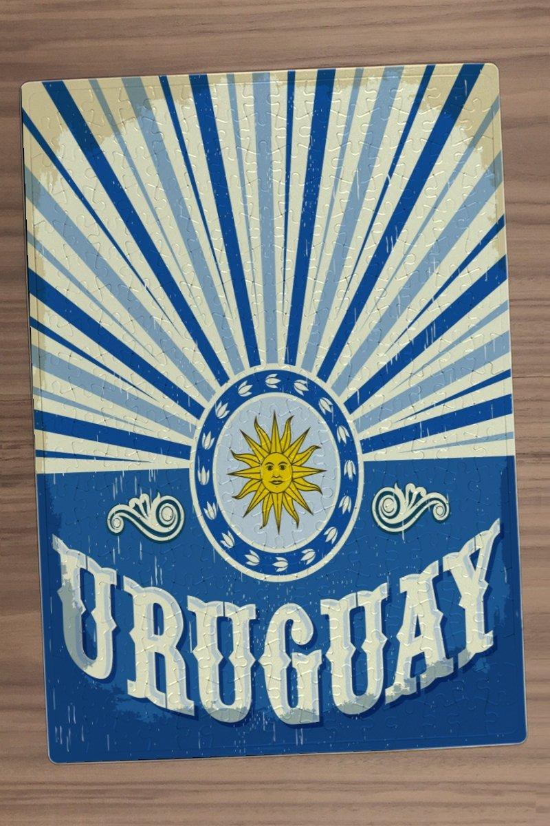 Puzle Trotamundos Uruguay impreso 300 piezes: Amazon.es: Juguetes y juegos