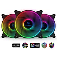 3-Pack anidees AI Tesseract 5V Addressable RGB 120mm PWM Fans