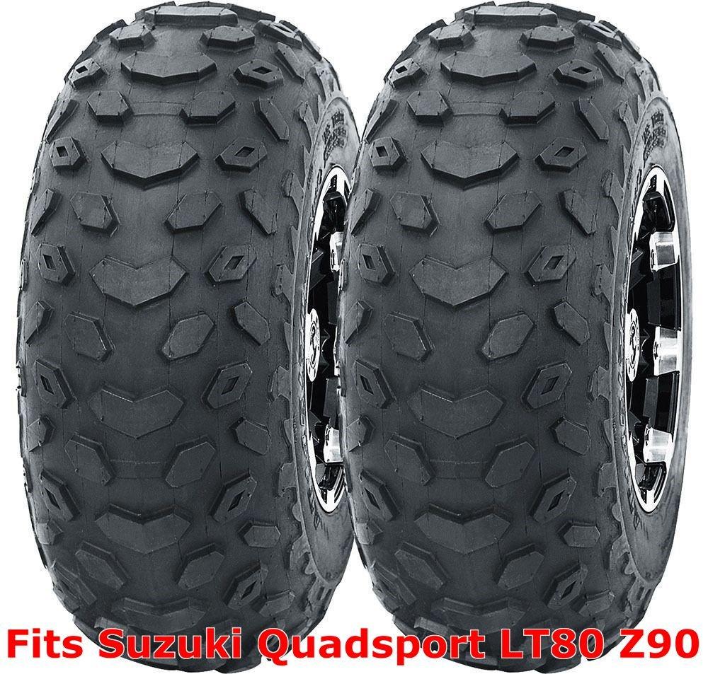 Set 2 WANDA ATV tires 19x7-8 19x7x8 Suzuki Quadsport LT80 Z90 P330