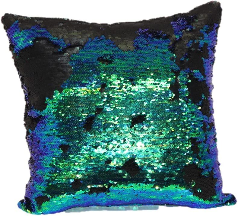 Brentwood Originals 2620 Mermaid 18 Decorative Pillow, Green Blue