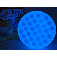 DIVERSITY New Glow in-The-Dark Push Pop with different color Pop Fidget Sensory Bubble Toy for Sensory Seekers, Autism…