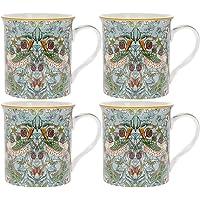 William Morris - Juego de 4 tazas en