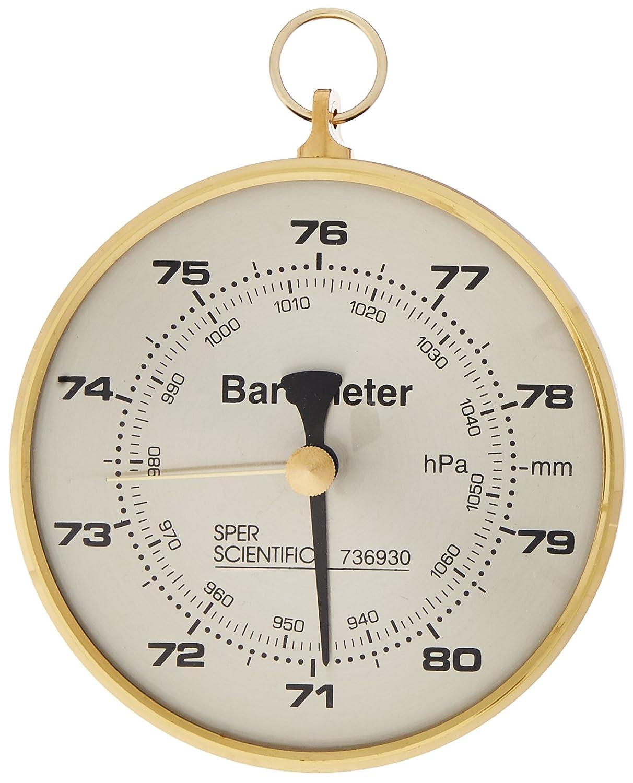Sper Scientific 736930 Dial Barometer, 4' Dial 4 Dial
