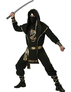 Generique Disfraz Ninja Hombre Premium M: Amazon.es ...