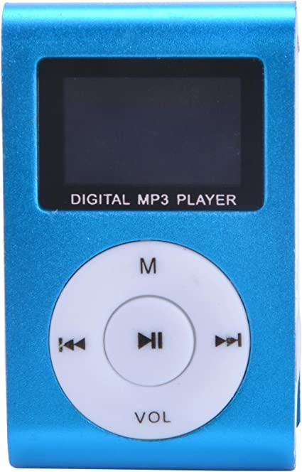 Reproductor Lector MP3 Player Clip USB LCD Screen FM Radio Micro SD Up To 32GB