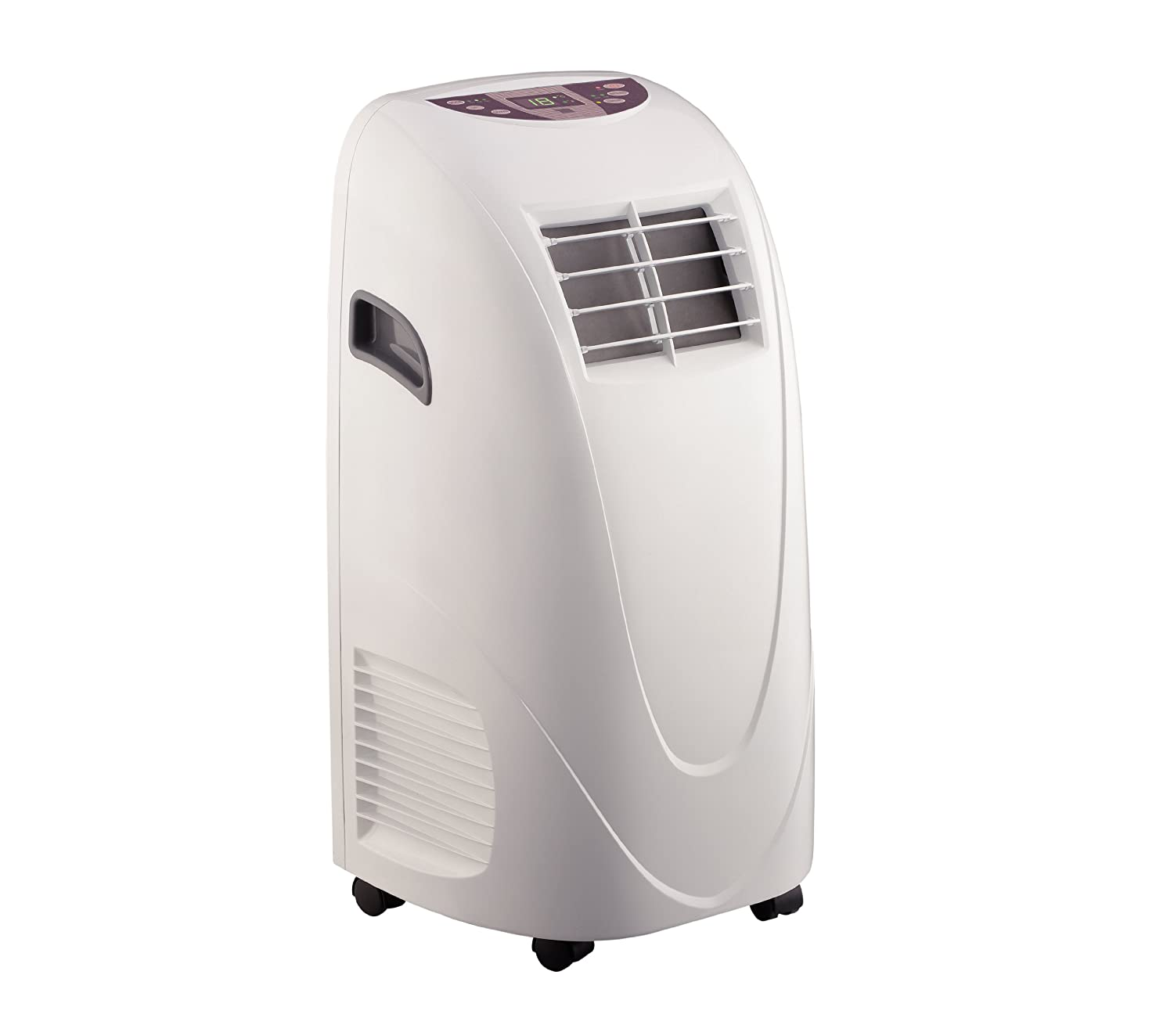 Global Air 10,000 BTU Portable Air Conditioner Cooling /Fan with Remote Control in White YPL310C