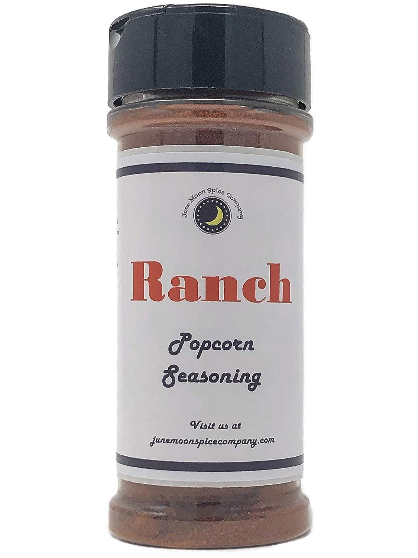 Premium | RANCH Popcorn Seasoning | Large Shaker | Calorie Free | Fat Free | Saturated Fat Free | Cholesterol Free | Sugar Free
