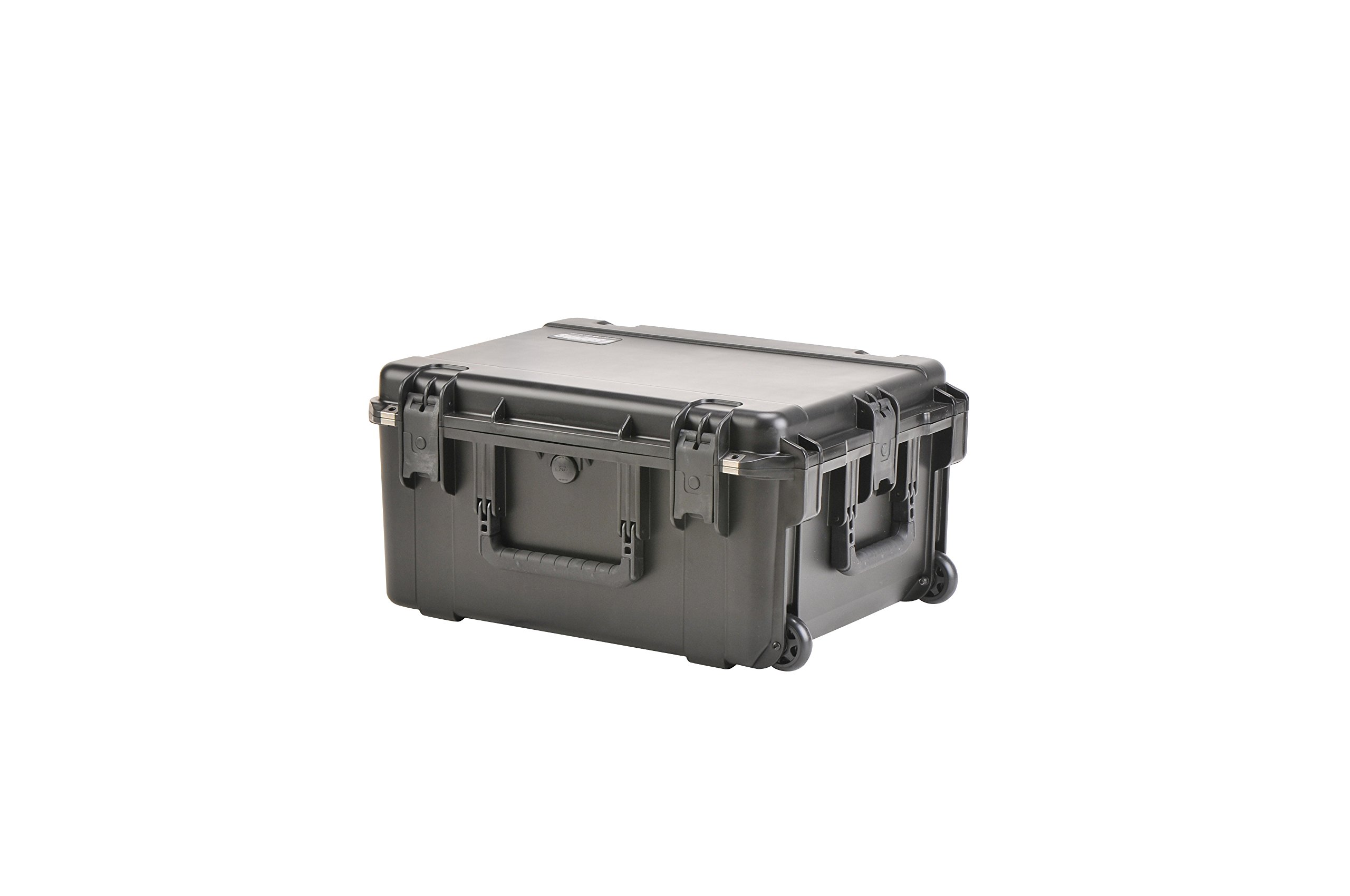 SKB 3I-2217-10BD Injection Molded Water-tight Case 22 x 17 x 10.5 Inches with wheels and Gray Dividers