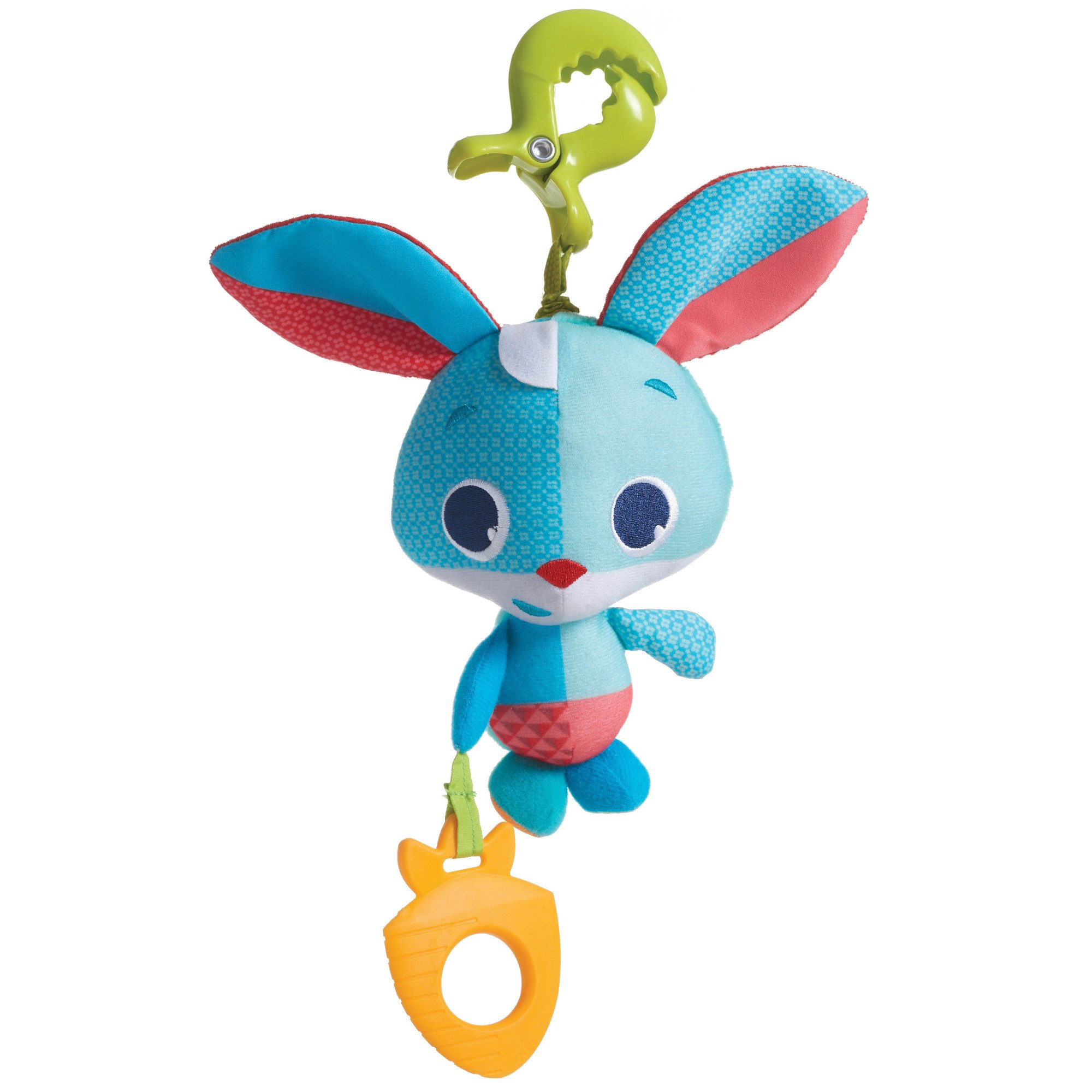 Tiny Love Thomas The Rabbit Jitter Teether Toy, Meadow Days