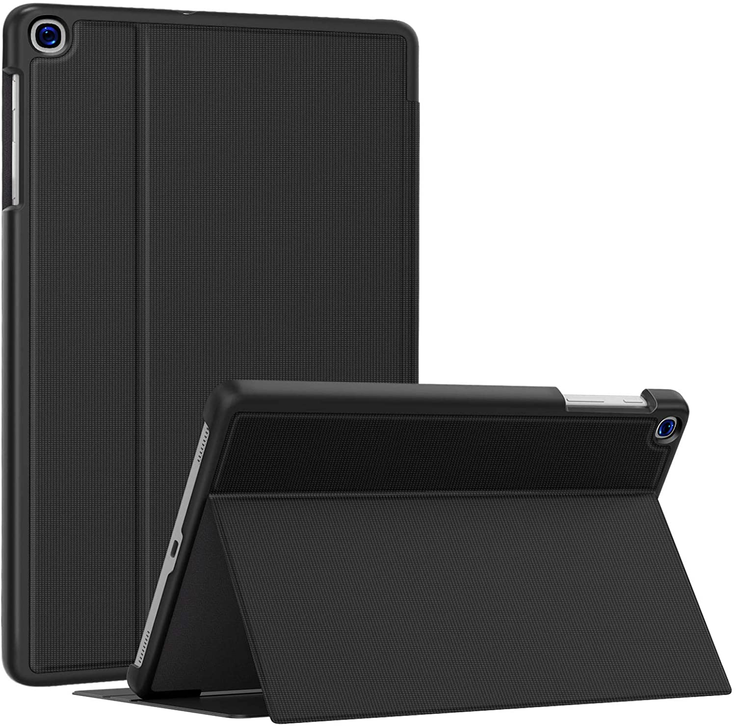 Soke Galaxy Tab A 10.1 Case 2019, Premium Shock Proof Stand Folio Case, Multi- Viewing Angles, Soft TPU Back Cover for Samsung Galaxy Tab A 10.1 inch Tablet [SM-T510/T515/T517],Black: Electronics