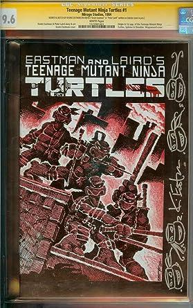 Amazon.com: TEENAGE MUTANT NINJA TURTLES #1 CGC 9.6 WHITE ...