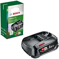 Bosch LithiumIon Battery Pack PBA 18 V (18 Volt, 2.5 Ah, DIY)
