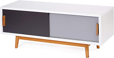 Ts Ideen Meuble Bas Tv Television Lowboard Sideboard Etagere Style
