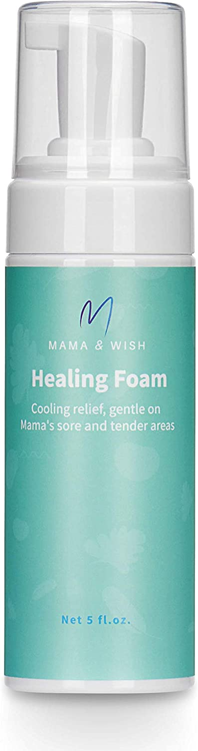 Witch Hazel Spray | Perineal Spray Postpartum Healing Foam | Postpartum Spray Pain Relief - Perineal Healing Foam for Post Partum Care and Recovery an Essential for Labor and Delivery Bags