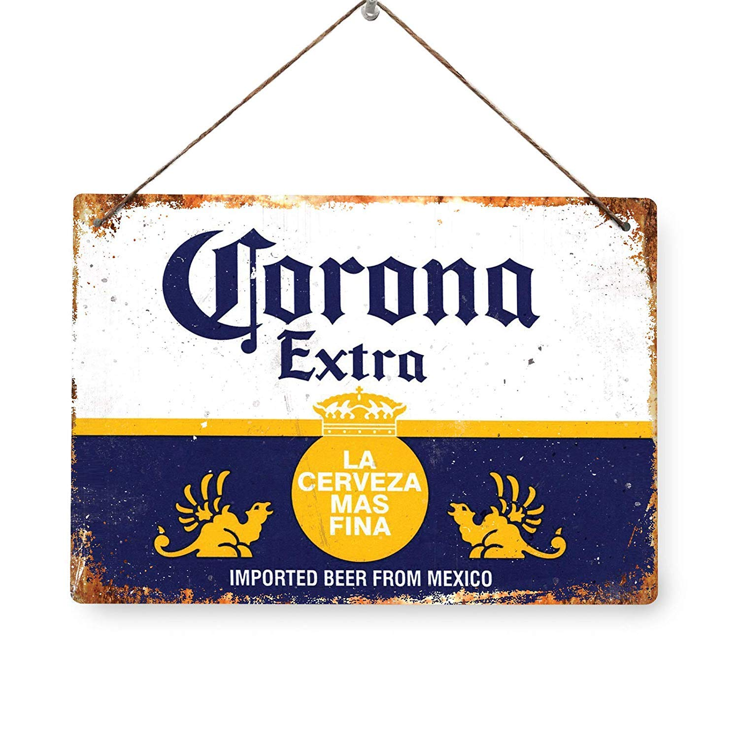 ICE COLD FOSTERS Beer Replica Vintage Metal Wall Sign Retro Pub Bar Mancave