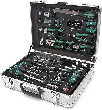 Mannesmann – Caja de herramientas de 108 piezas 29075: Amazon.es: Bricolaje y herramientas