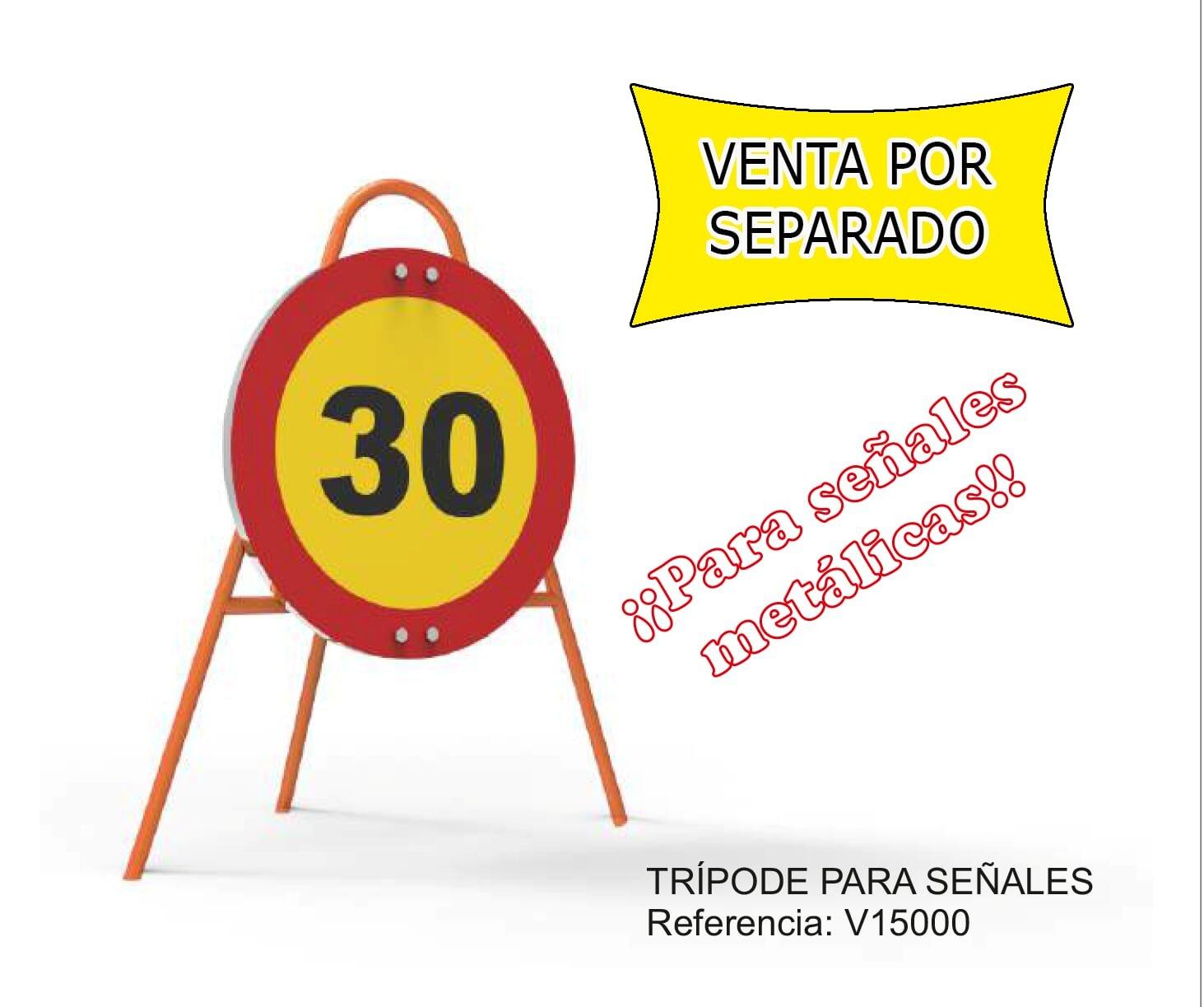 Se/ñal Vial Triangular Otros Peligros Metalica Termolacada 70 cm Normaluz V11008