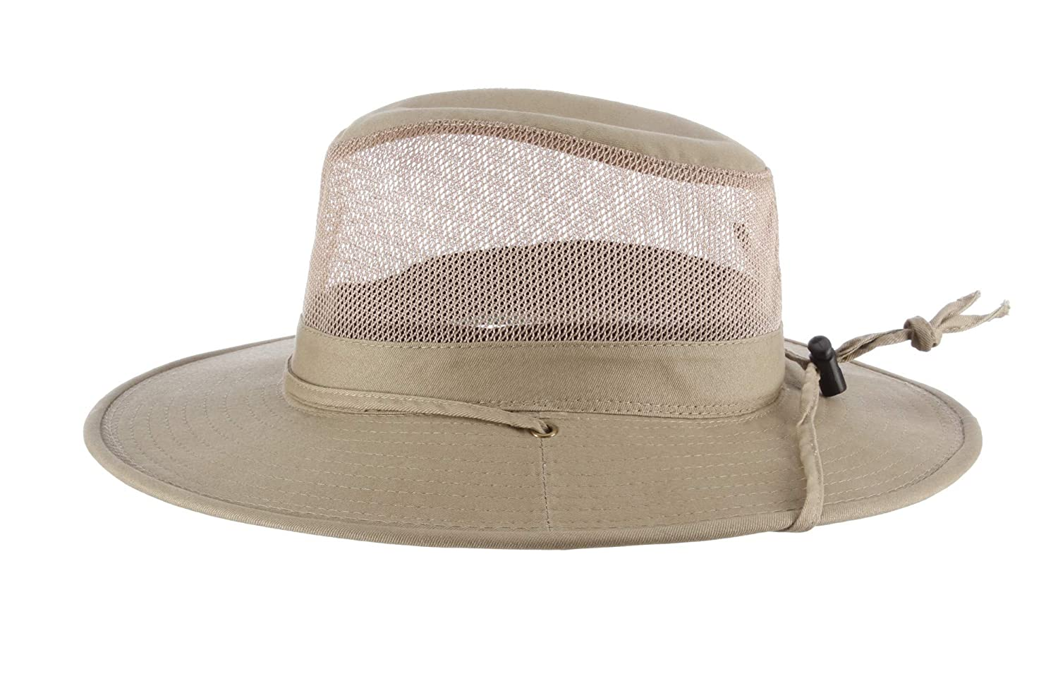 0ea0258ffaf85 Dorfman Pacific DPC Outdoors Solarweave Treated Cotton Hat Beige   Amazon.in  Clothing   Accessories