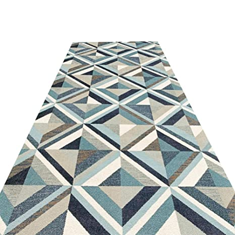 HAIPENG-alfombras pasillo Corredor Largo Entrada Antideslizante Estera De Puerta Lavable En La Lavadora Paso