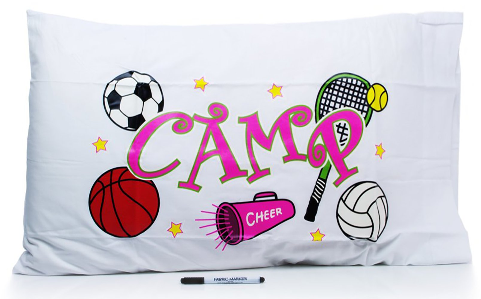 Camp Autograph Pillowcase (Camp Girls Sport)