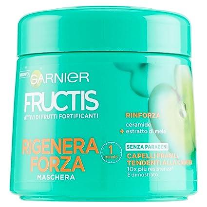 Fructis - Regeneración de fuerza – repara el cabello máscara 300 ml