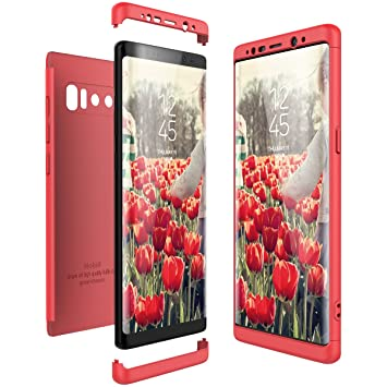 CE-Link Funda Samsung Galaxy Note 8, Carcasa Fundas para Samsung Galaxy Note 8, 3 en 1 Desmontable Ultra-Delgado Anti-Arañazos Case Protectora - ...