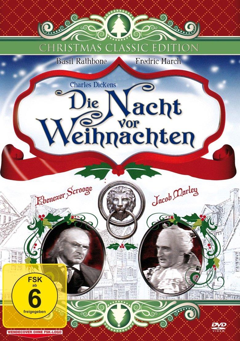 Die Nacht vor Weihnachten: Amazon.de: Fredric March, Basil Rathbone ...