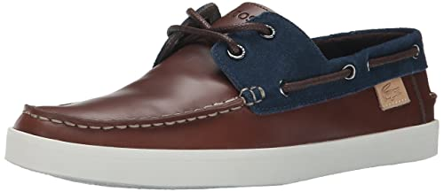 8b87d77c6d86 Lacoste Men s Keellson 8 Boat Shoe