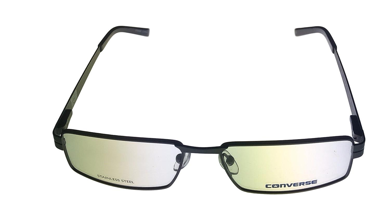 f3c85286f7 Amazon.com  Converse Prescription Eyeglasses - A045 Gunmetal - (52 15 135)   Clothing