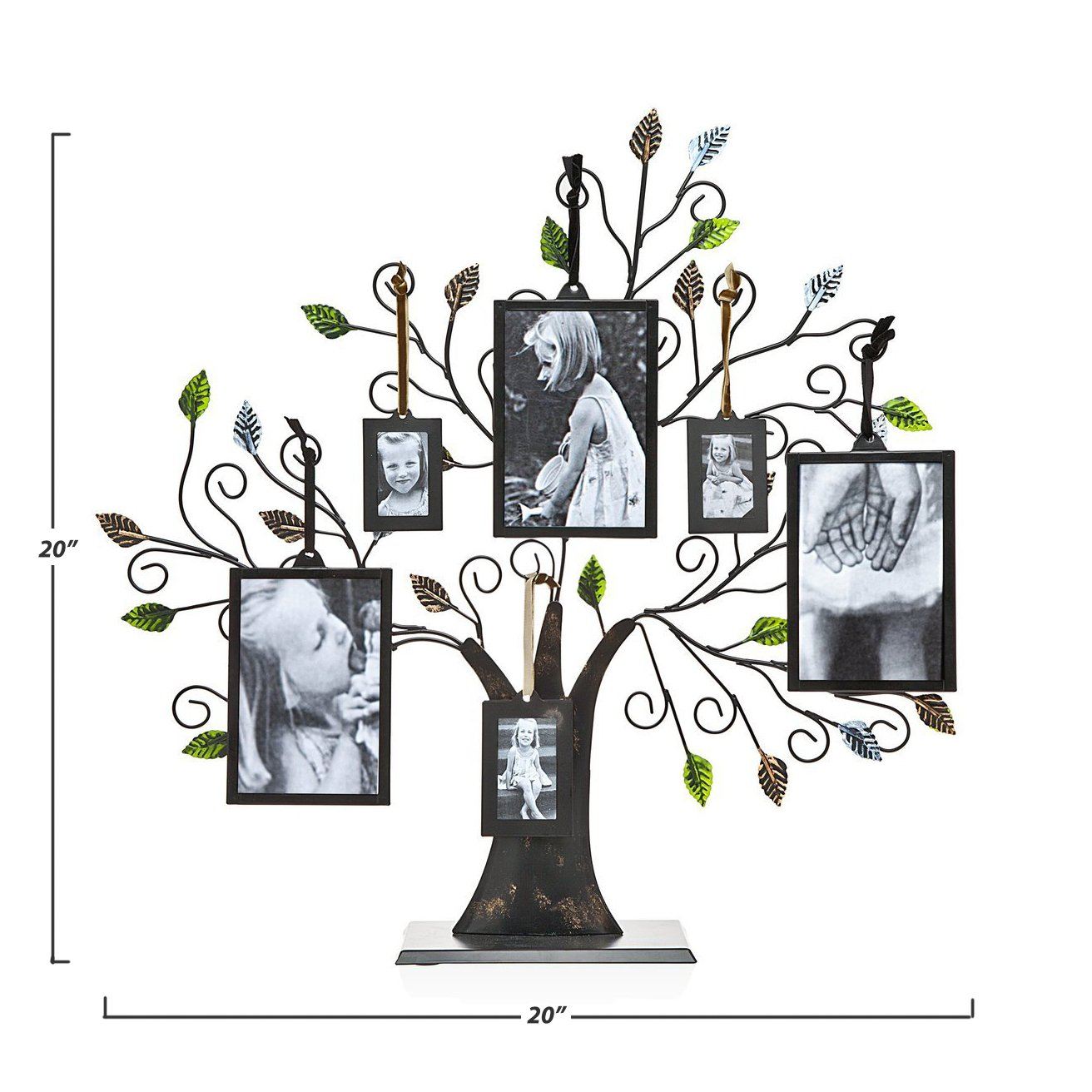 Home kitchen set of 4 extra hanging frames for family tree size 2x3 maypes