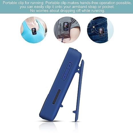 AGPtek A50 8 GB Clip Deporte reproductor de mp3 bluetooth con pantalla TFT de 1,5 pulgadas, el apoyo de hasta 64 GB, sin pérdidas reproductor de música ...