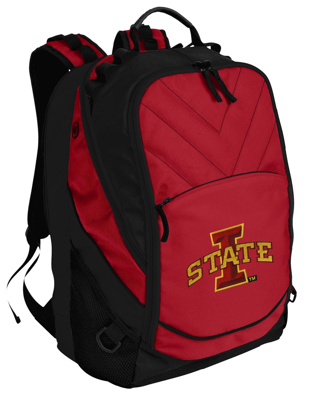 Broad Bay ISU Cyclones Backpack Red Iowa State Laptop Computer Bags