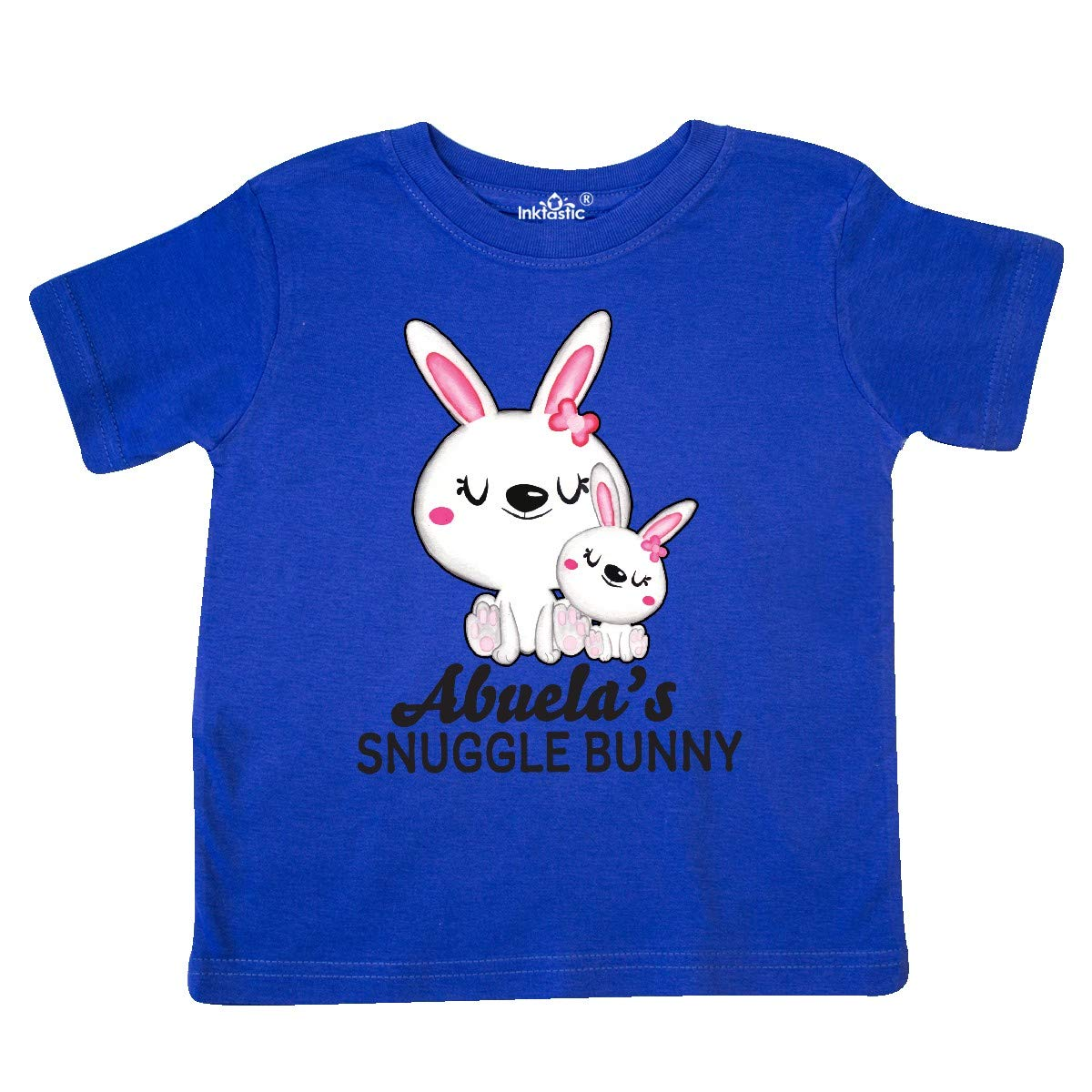 inktastic Abuelas Snuggle Bunny Easter Toddler T-Shirt