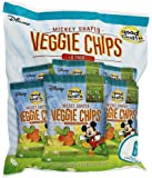 Good Health Disney Mickey Shaped Veggie Chips 6 Ounce (1 Ounce x6 Bags)