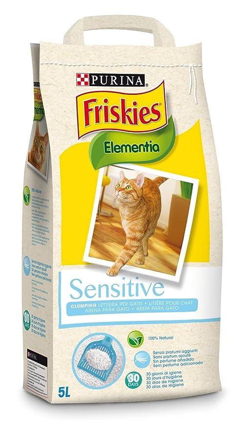 Friskies Elementia Sensitive Arena Aglomerante para Gato 4,2 Kg - 5000 gr
