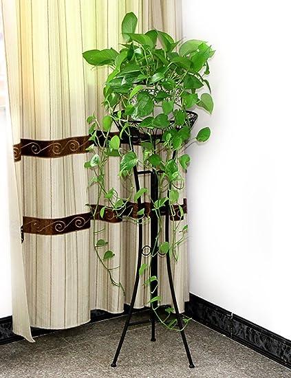 estante de almacenamiento Estante de la flor del hierro, estante europeo del estante de la