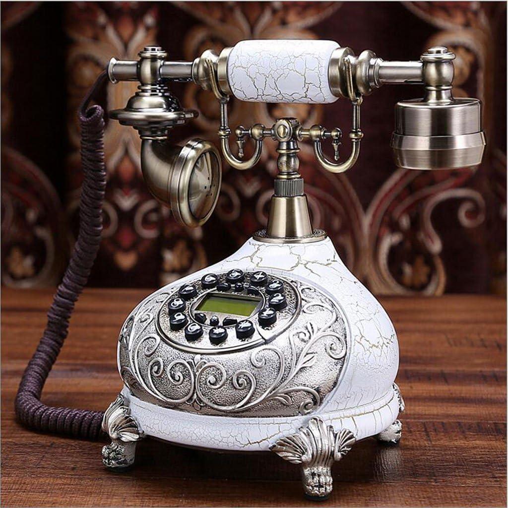 PANYFDD Telephone European Pastoral Vintage Telephone Home Landline Telephone Hotel,Office Decor