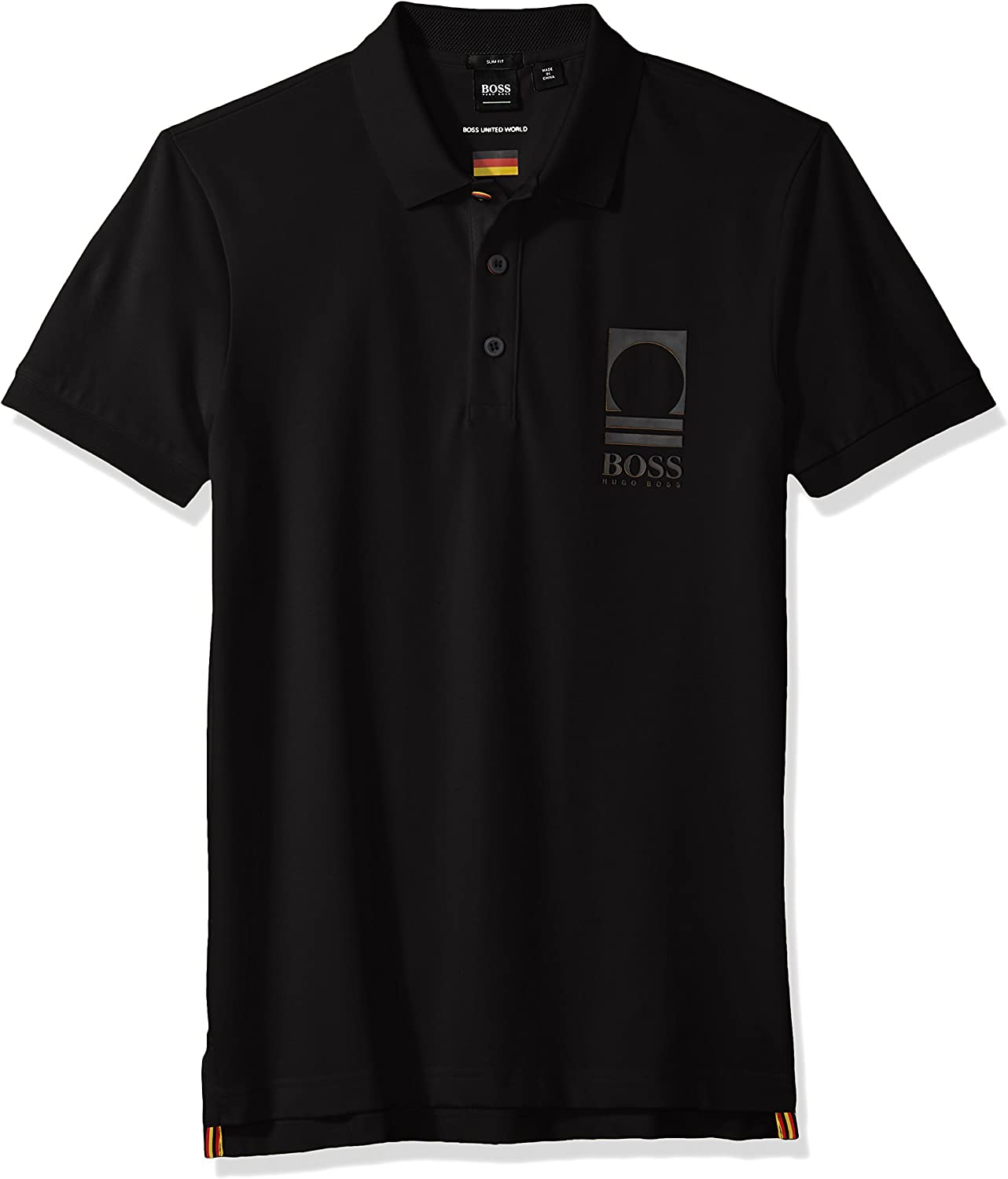 BOSS Orange Mens World Cup Soccer Country Polo Shirt