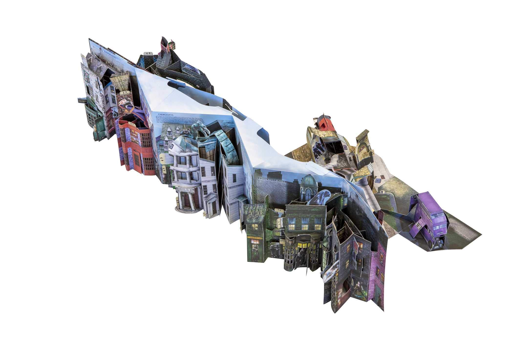 Harry Potter: A Pop-Up Guide to Diagon Alley and Beyon ...