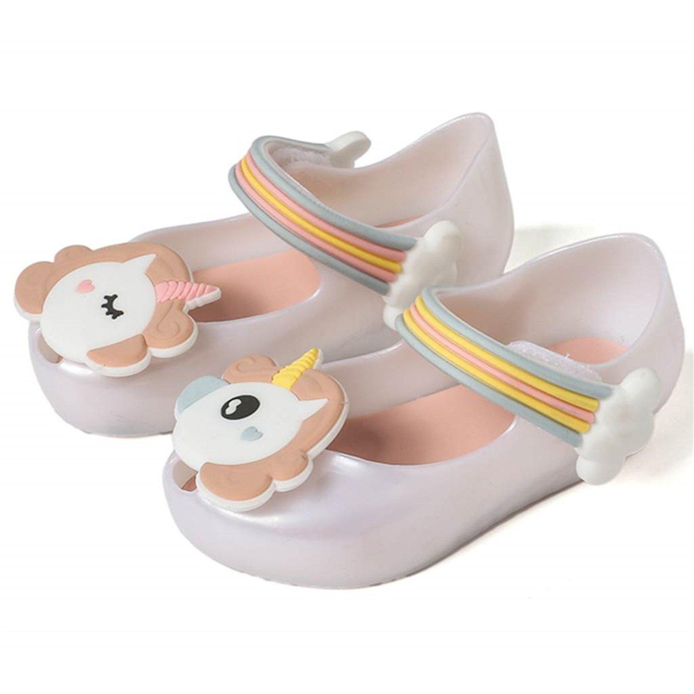 New Summer Dargon Sandals Mini Unicorn Shoes New Winter Jelly Shoe Fish Mouth Girl Non-Slip Kids Sandal