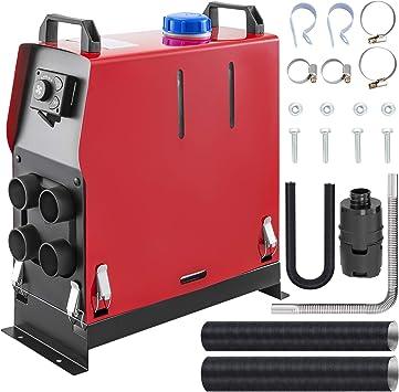Vevor 12v Diesel Lufterhitzer 5kw Air Standheizung Standheizung Diesel Luft Dieselheizung Air Diesel Heizung Air Standheizung Aluminium Für Wohnmobile Mit Drehschalter Geräuscharm Auto