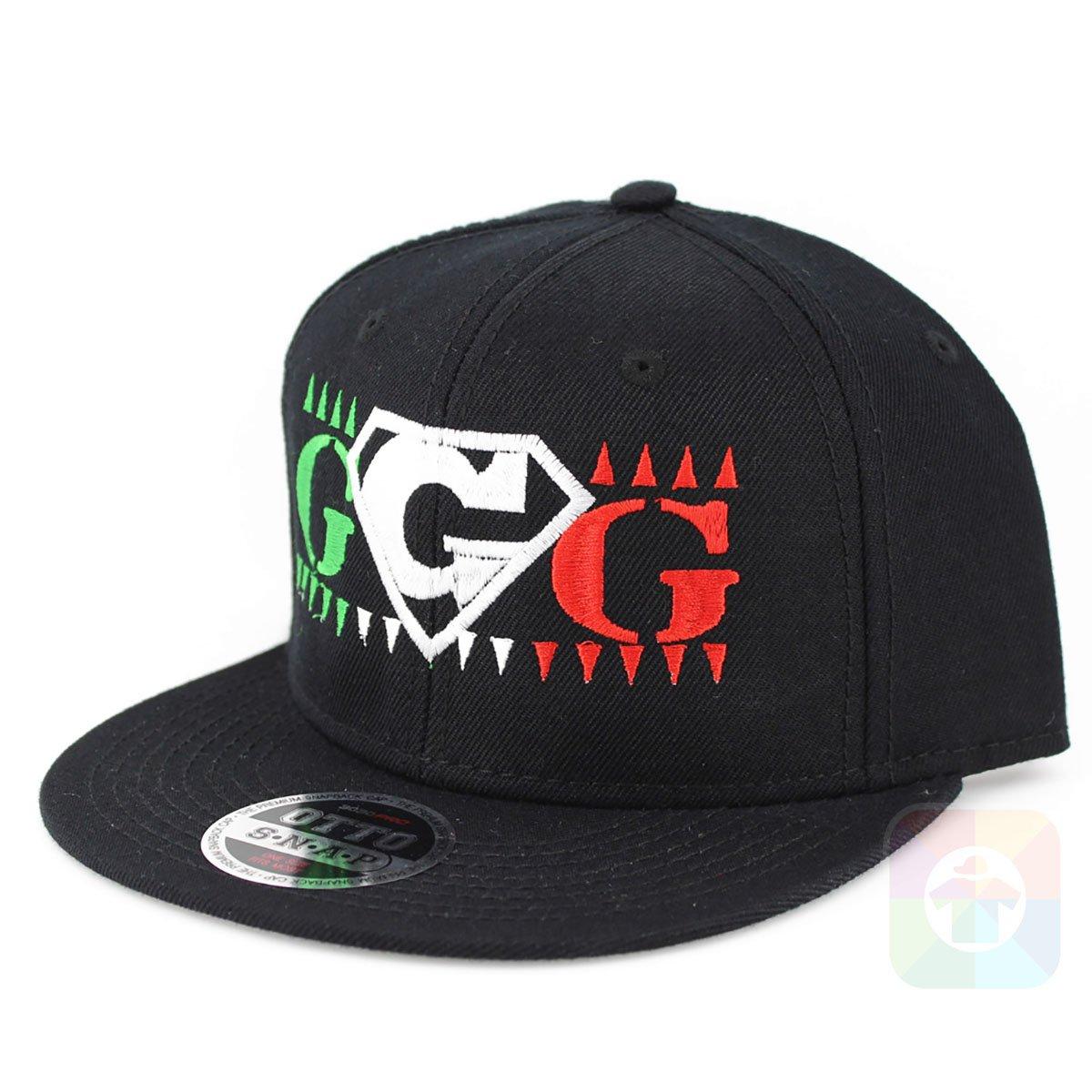 Boxing GGG - Gorra de Boxeo con Pinchos (6 Paneles, Estilo ...