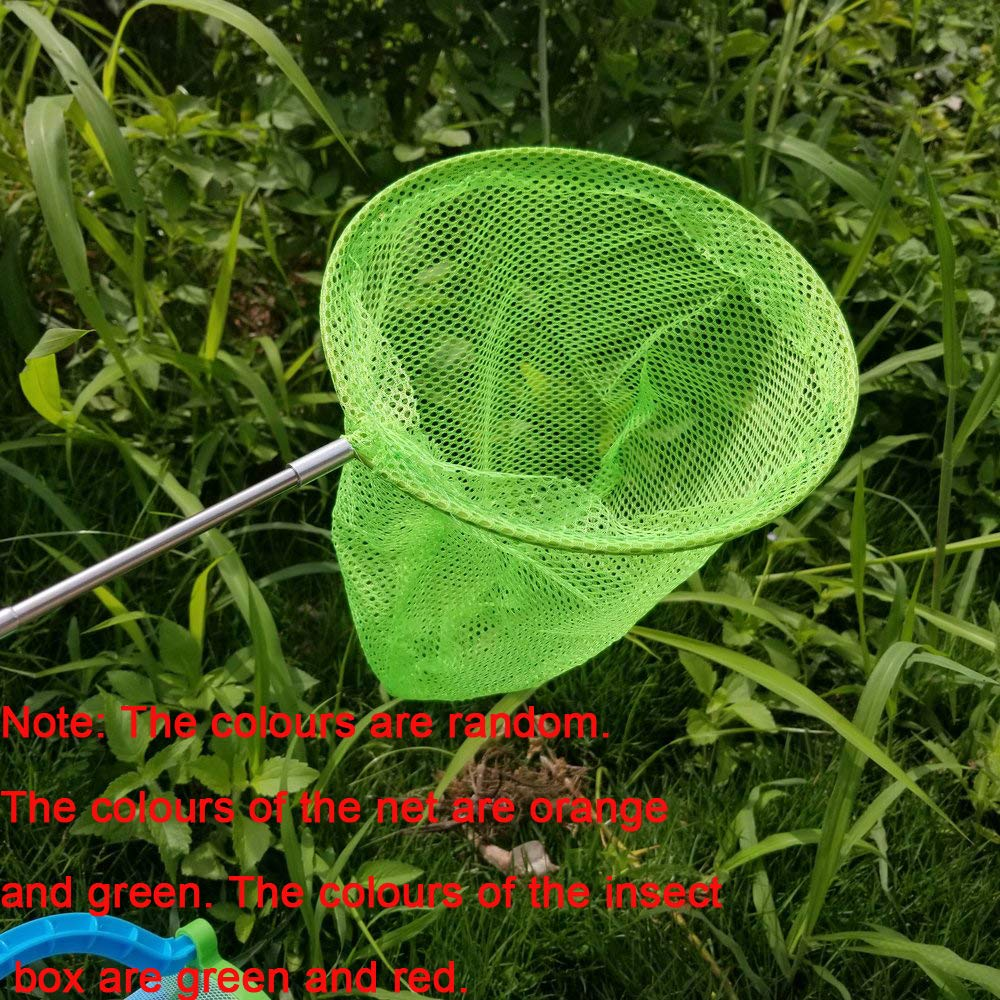 Includes Legerity Portable Bug House Toy Carrying Handle,Butterfly Insect Net M-jump Outdoor Nature Exploration Toys Insect Bug Adventure Set