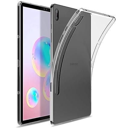 IVSO Funda Carcasa para Samsung Galaxy Tab S6 10.5, Slim Protectora Carcasa Cover para Samsung Galaxy Tab S6 SM-T860/T865 10.5 2019, Clear