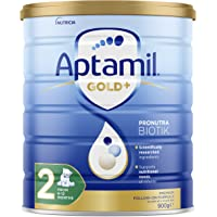 Aptamil Gold+ 2 Baby Follow-On Formula From 6-12 Months, 900 g, No Flavor Available