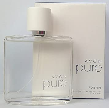 Amazoncom Avon Pure For Him Eau De Toilette 75ml 25floz Beauty