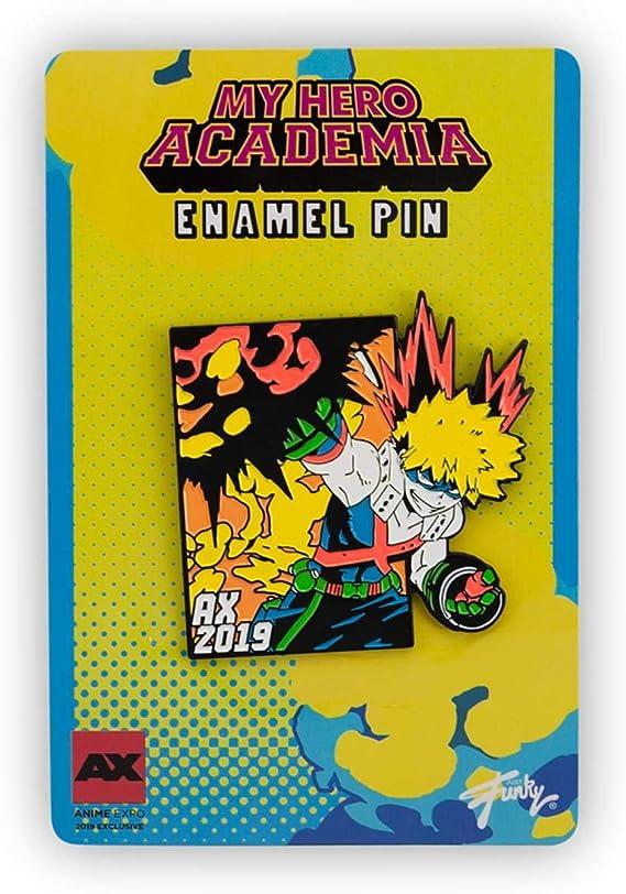 "MY HERO ACADEMIA BAKUGO ENAMEL PIN 2/"""