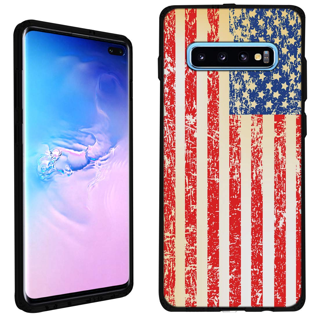 Amazon.com: Funda para Samsung Galaxy S10 Plus (negro ...