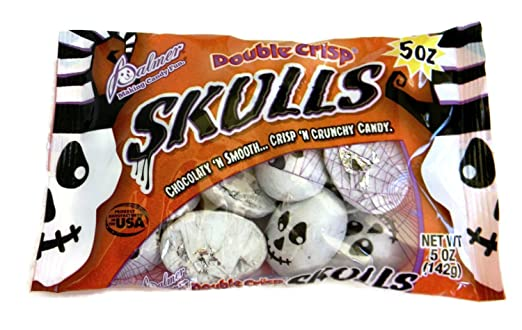 Skulls Chocolate Candy