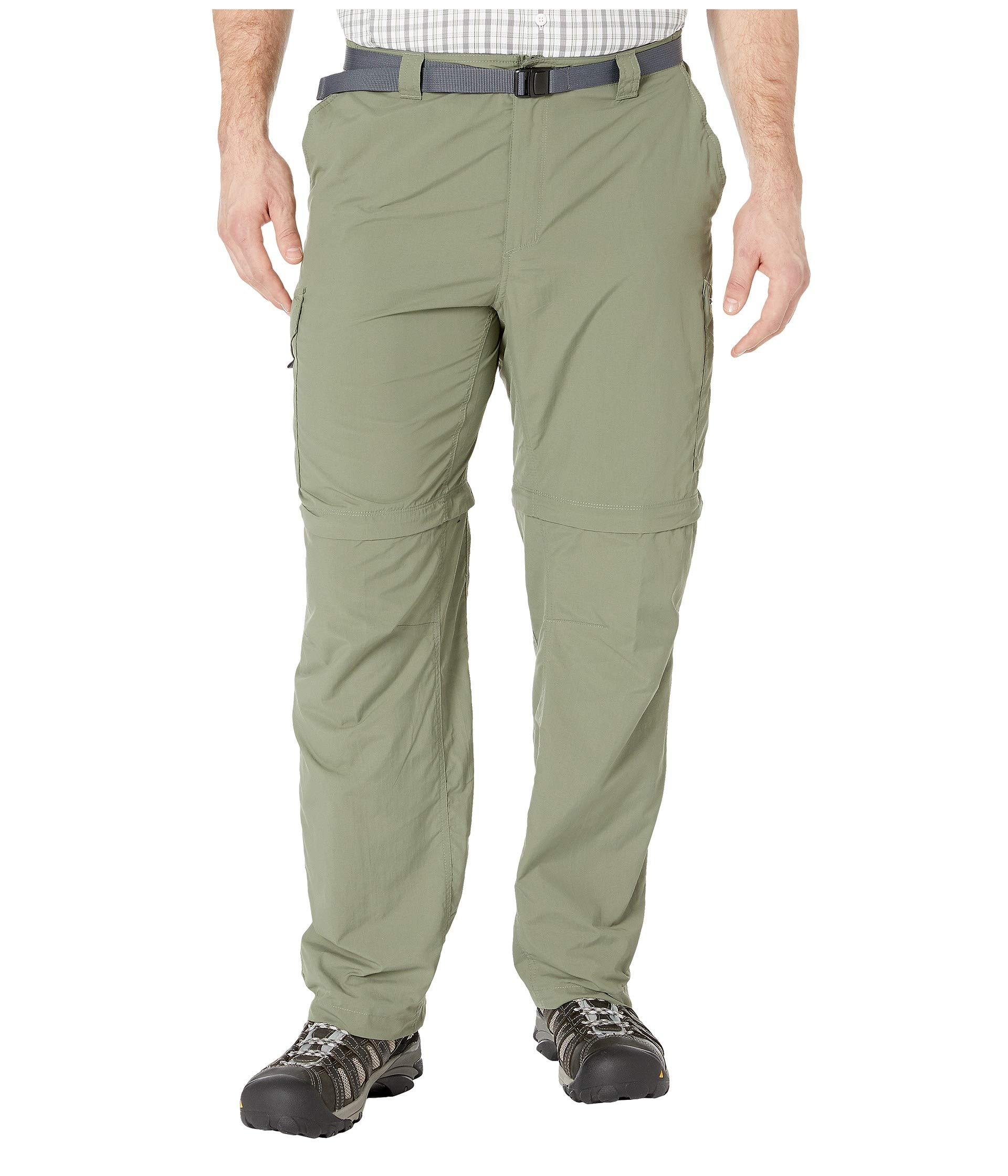 Columbia 1441675 Men's Silver Ridge Convertible Pants, Size 42x30, Cypress